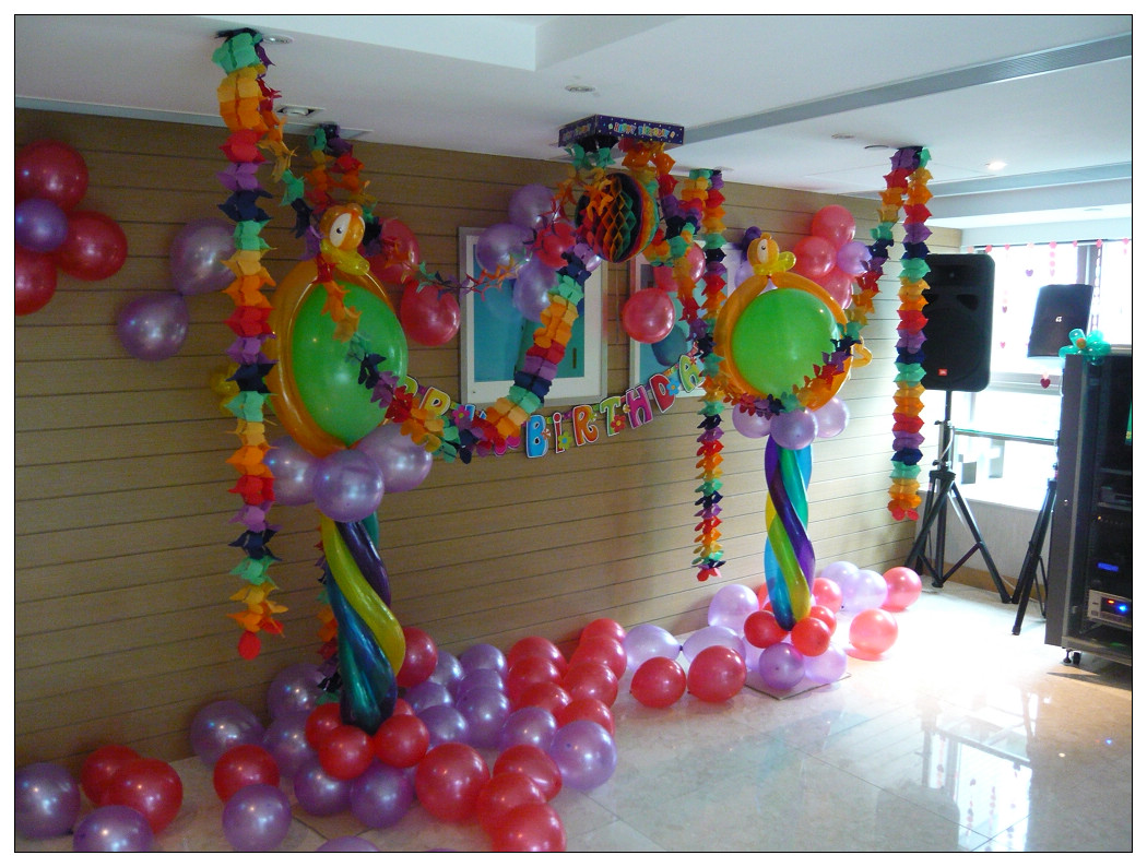 E k magic company for Balloon decoration company